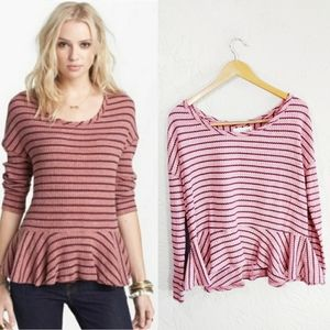 We the Free {Free People} Auntie Em Thermal Top